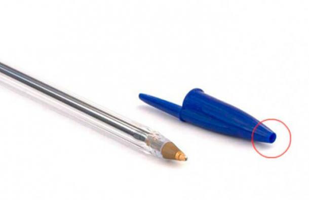 Este pequeño detalle en los bolígrafos le salva la vida a cientos de niños