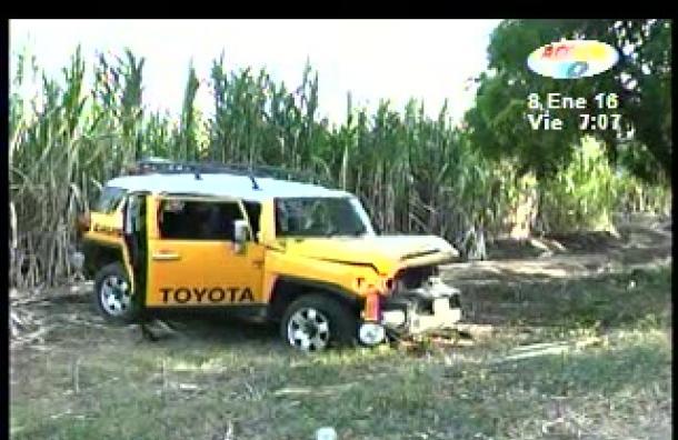 Dos muertos deja accidente en Masachapa