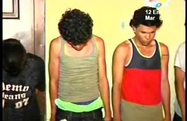 6 sujetos fueron sorprendidos empacando droga para posterior comercialización