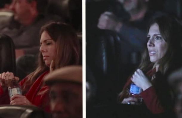 Una sala de cine regala agua en botellas imposibles de abrir por una impactante razón