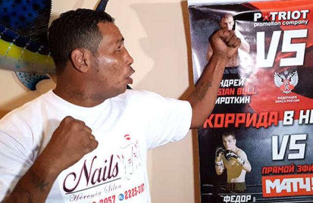 Ricardo Mayorga pierde ante Sirotkin en Rusia