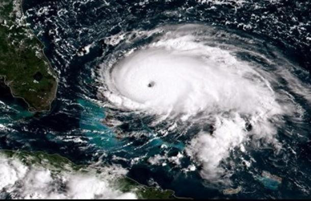 La NASA fotografió el huracán Dorian tras su paso por las Bahamas
