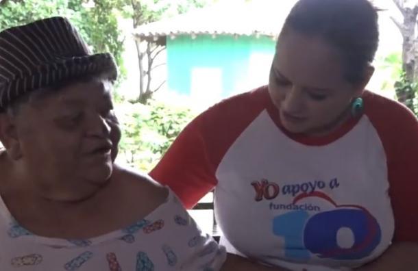 """Fundación 10 en compañía de otras entidades visitron el """" Hogar San Antonio, Masaya"""""""