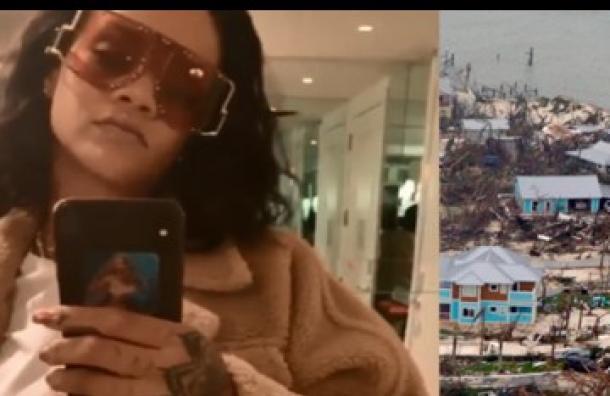 Rihanna anuncia la ayuda de su fundación para víctimas del huracán Dorian