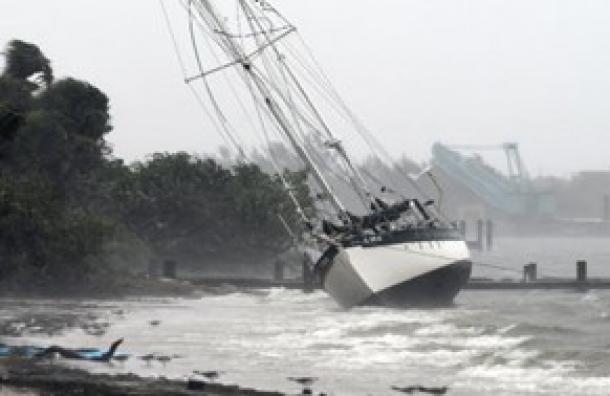El huracán Dorian tocó tierra en la costa de Carolina del Norte con lluvia, tornados y vientos de 150 kilómetros por hora