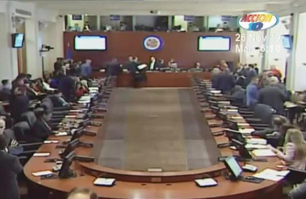 La sesión de la OEA sobre el caso de Nicaragua