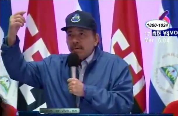 Presidente Daniel Ortega arremetió contra la oposición, afirmando que no permitirá un estallido social similar al de abril del 2018