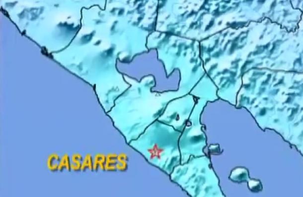 Temblor 5.2 en costa pacífico de Nicaragua