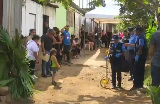Policía reconstruye caso de bebe de dos años atropellada