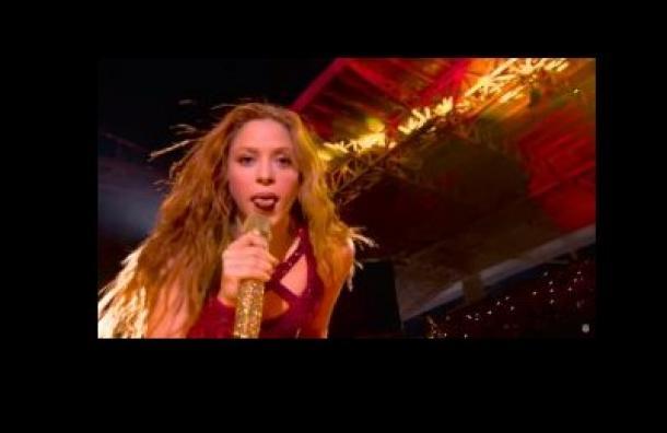 Conozca el origen del movimiento de lengua que hizo Shakira en el Super Bowl