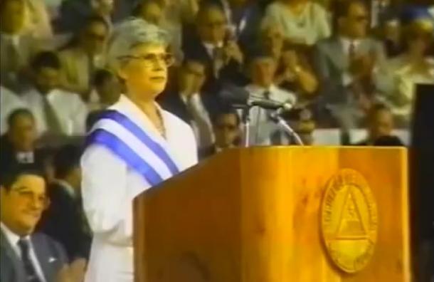 Recordamos el legado de Violeta Barrios de Chamorro