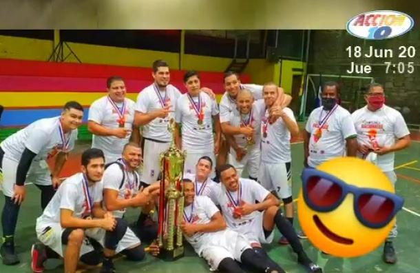 Matagalpa se coronó campeón del torneo de baloncesto