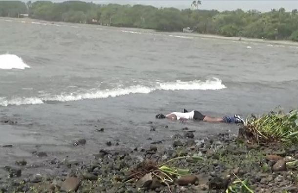 Joven aparece ahogado después de estar tomando licor en un bar