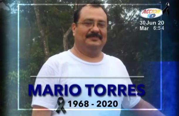 El legado de Mario Torres en Canal 10