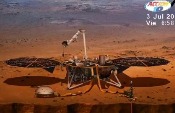 Un día como hoy se envió la primera misión a Marte