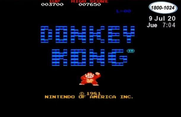 Un día como hoy se lanzó el videojuego Donkey Kong