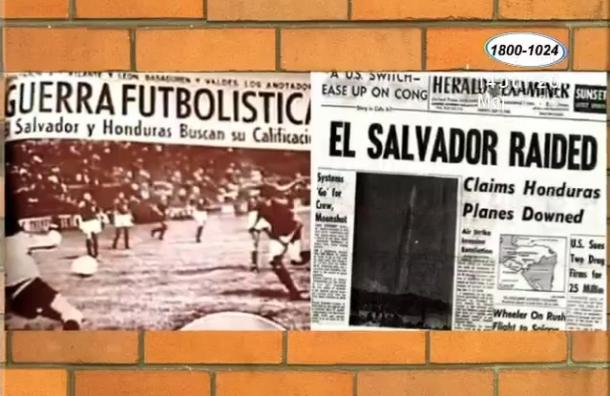 Un día como hoy se enfrentaron las selecciones de El Salvador y Honduras