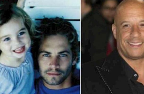 Vin Diesel tiene un lazo paternal con la hija de Paul Walker