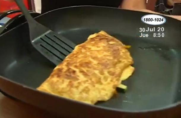Aprende a preparar un delicioso omelette
