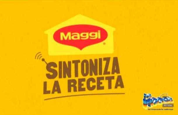 Recetas Maggi tendrá un programa en Radio Picosa