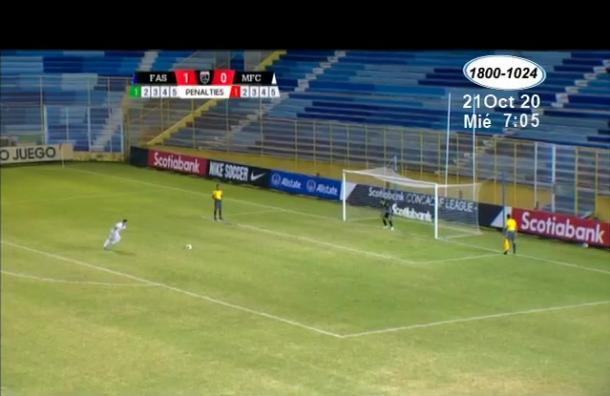 Managua FC ganó al FAS de El Salvador