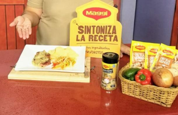 Filete de res en salsa de hongos MAGGI®